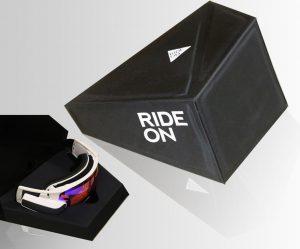 RideOn עיצוב אריזות למשקפי סקי