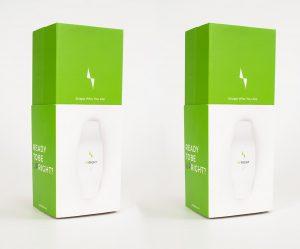 עיצוב אריזה למכשיר אימון - סטודי NFH