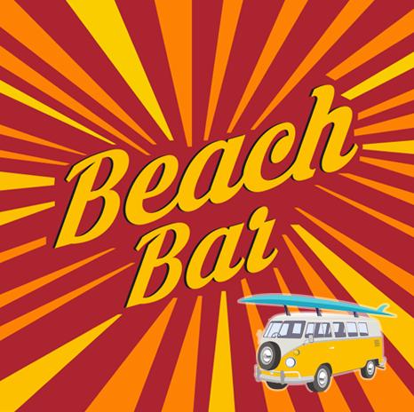 BeachBar_BrandingRetro_Logo_NotFromHere_מיתוג_רטרו_לוגו