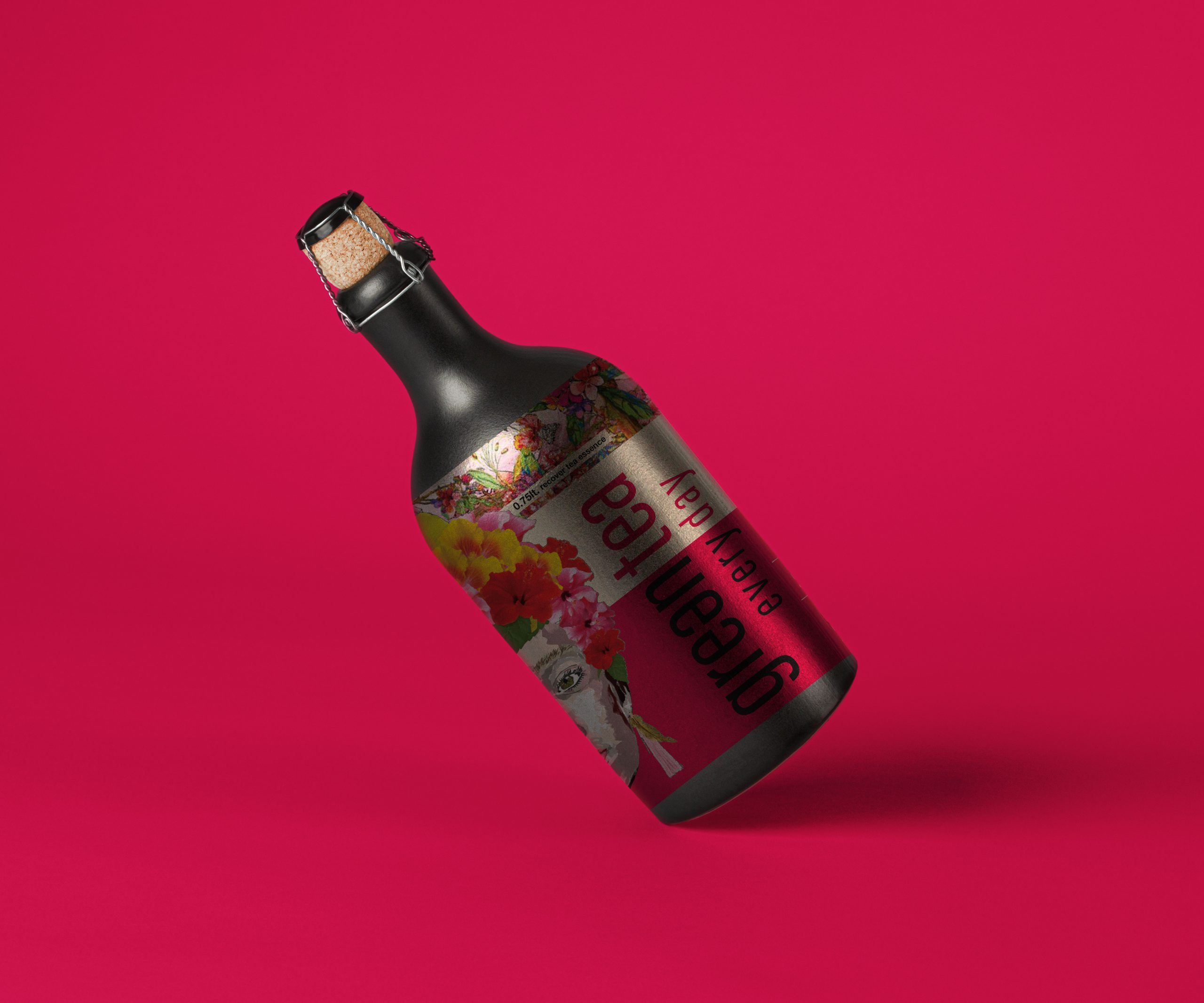 Beverages-Design-graphic-design-design-Notfromhere-tea-labels