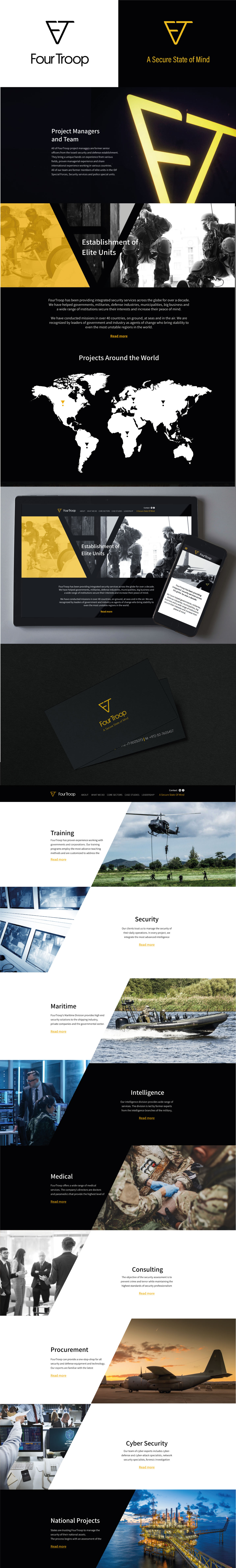 NFH_4troop_Branding_Logodesign_digital_Webdesign