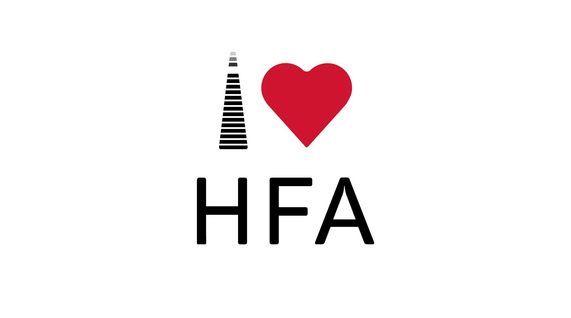 logo design graphic design i love haifa logo