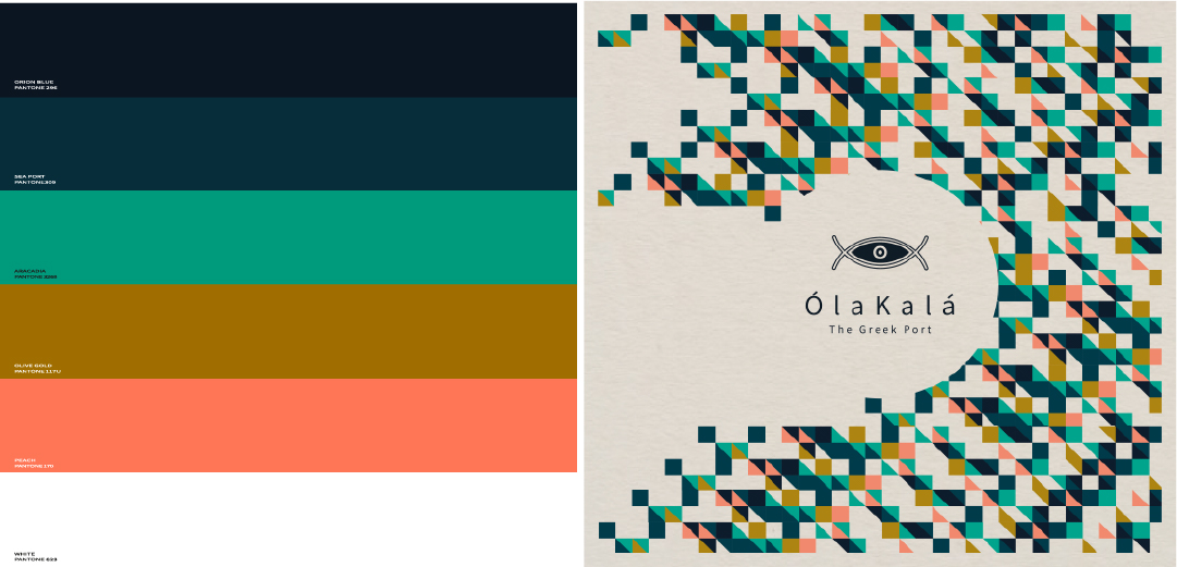 branding color palate notfromhere brand agency