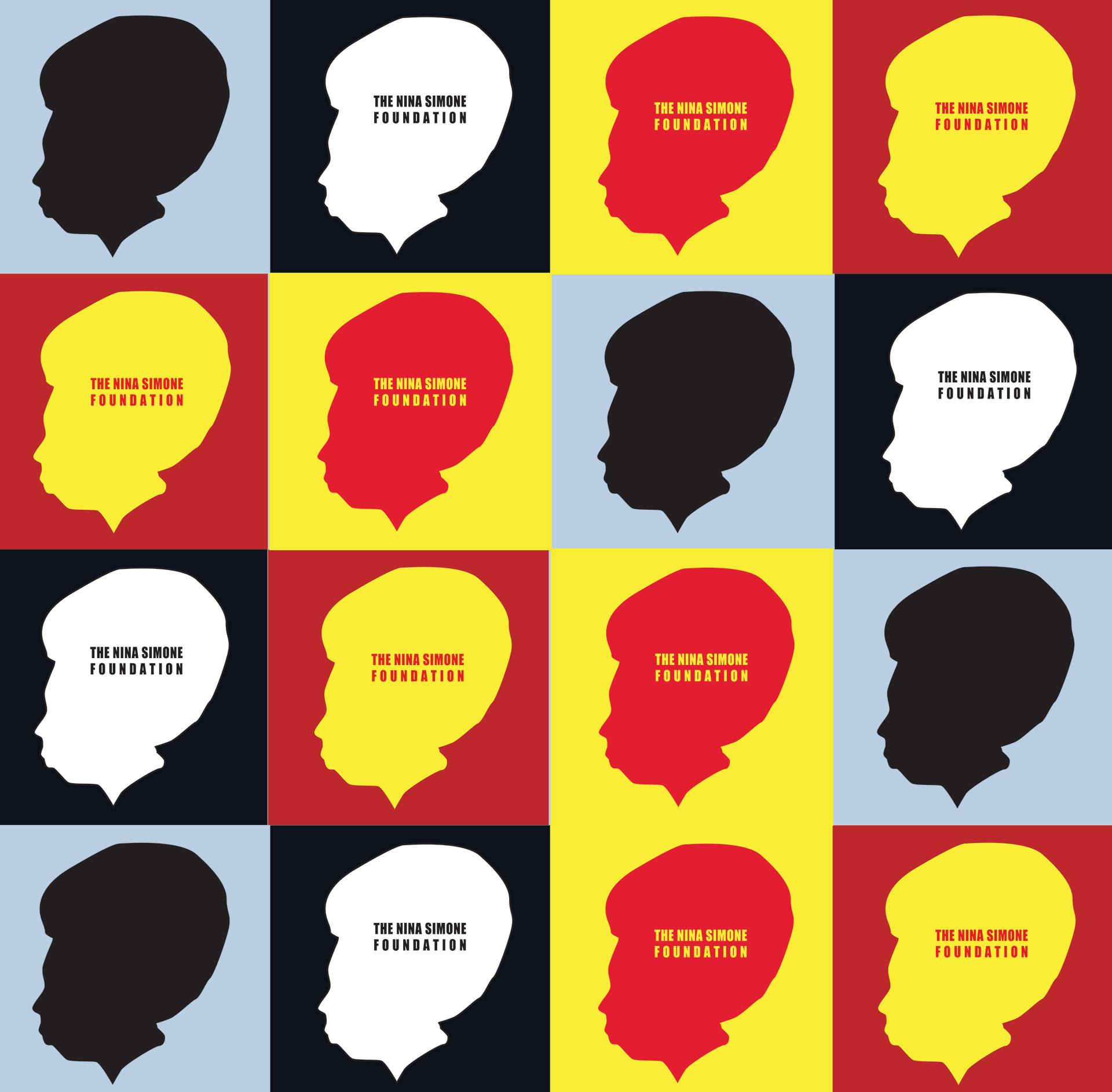 notfromhere-nina-simone-foundation-logo-design fun colors for logo